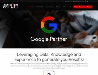 amplifymm.com screenshot