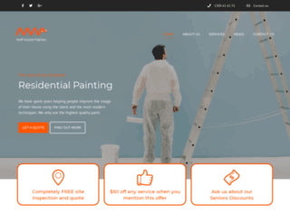 ampmasterpainters.com.au screenshot