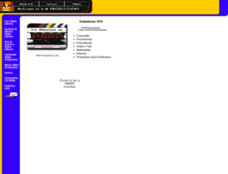 amproductions.com screenshot