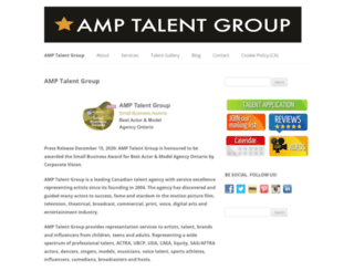 amptalent.com screenshot