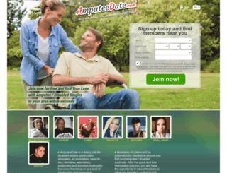 amputeedate.com screenshot