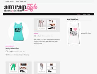 amrapstyle.com screenshot