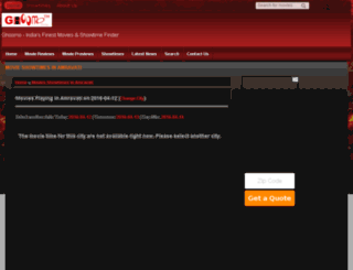 amravati.ghoomo.com screenshot