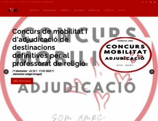 amrc-cat.org screenshot
