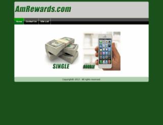 amrewards.com screenshot
