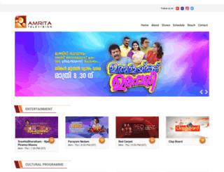 amritatv.com screenshot