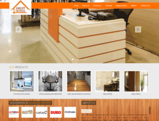 amritinterio.com screenshot