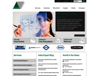 amritt.com screenshot