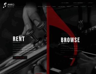 amromusic2013.sitewrench.com screenshot