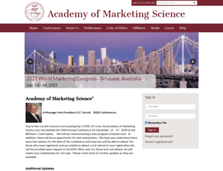 ams-web.org screenshot