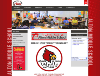 ams.altonschools.org screenshot