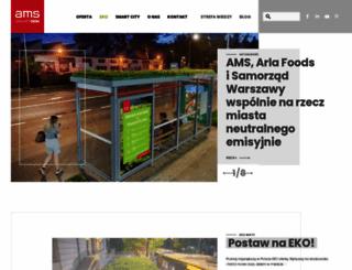 ams.com.pl screenshot