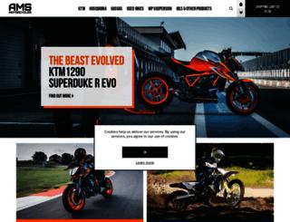 ams4ktm.co.uk screenshot