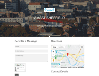 amsat.co.uk screenshot