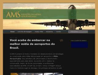 amsmidiaaeroportuaria.com.br screenshot