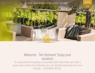 amsonneck.com screenshot