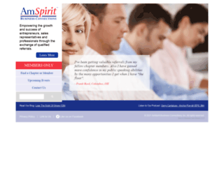 amspirit.com screenshot