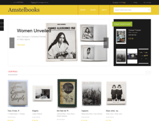 amstelbooks.eu screenshot