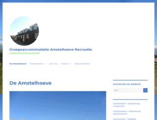 amstelhoeve.nl screenshot