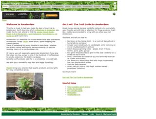 amsterdam-for-smokers.com screenshot