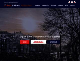 amsterdam.meerbusiness.nl screenshot