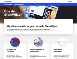 amsterdam.stemwijzer.nl screenshot