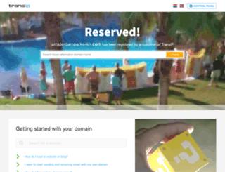 amsterdamparkeren.com screenshot