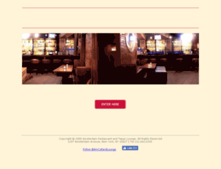 amsterdamrestaurant.com screenshot