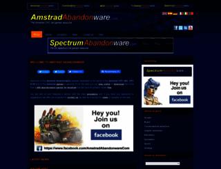 amstradabandonware.com screenshot