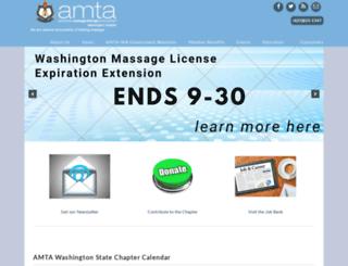amta-wa.org screenshot