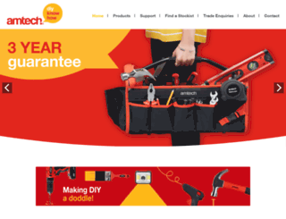 amtechtools.co.uk screenshot