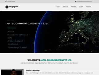 amtelcommunication.com screenshot