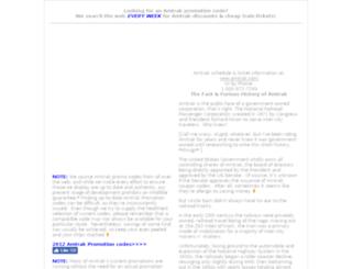 amtrakcouponcodes.com screenshot