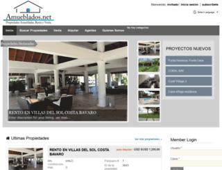 amueblados.net screenshot