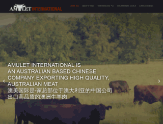 amuletinternational.com screenshot
