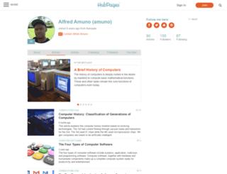amuno.hubpages.com screenshot