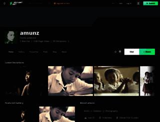 amunz.deviantart.com screenshot