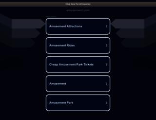 amusement.com screenshot