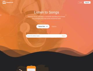 amusic.afrafa.com screenshot