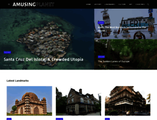 amusingplanet.com screenshot