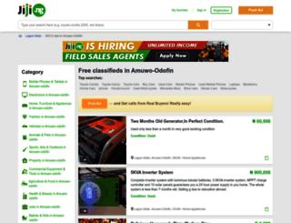 amuwo-odofin.jiji.ng screenshot