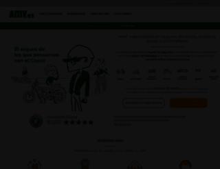 amv.es screenshot