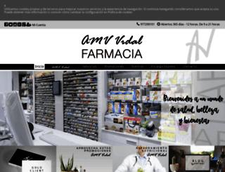 amvvidal.es screenshot