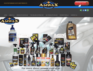 amwaxpolish.com screenshot
