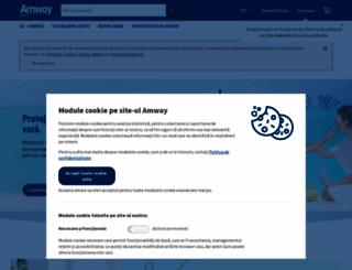 amway.ro screenshot
