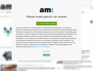 amweb.nl screenshot