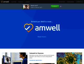 amwell.com screenshot