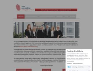 amx-consulting.de screenshot