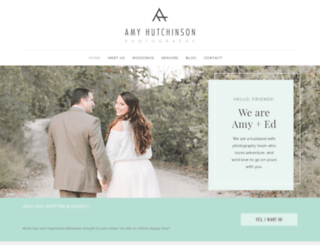 amy-hutchinson.com screenshot