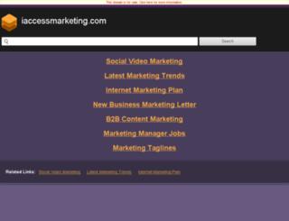 amy.iaccessmarketing.com screenshot